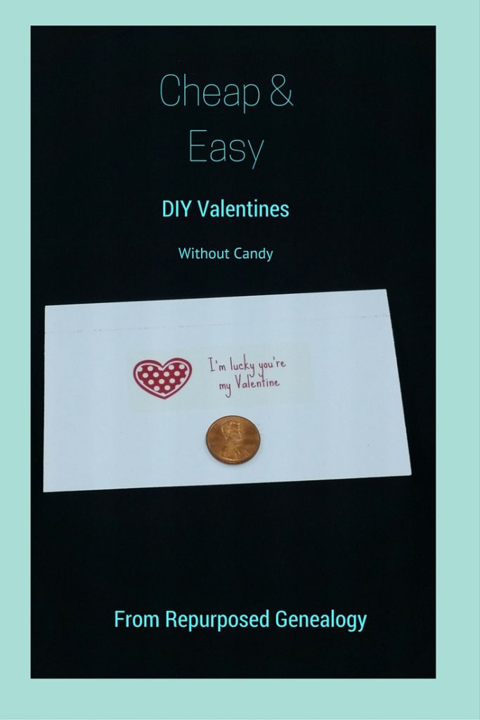 DIY Cheap & Easy Valentines