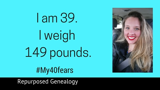 I am 39. I weigh 149 pounds blog header