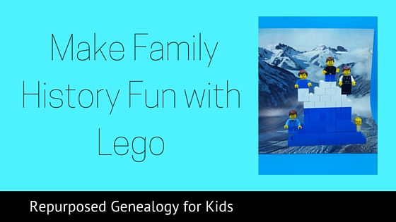 Use Legos for family history- blog post