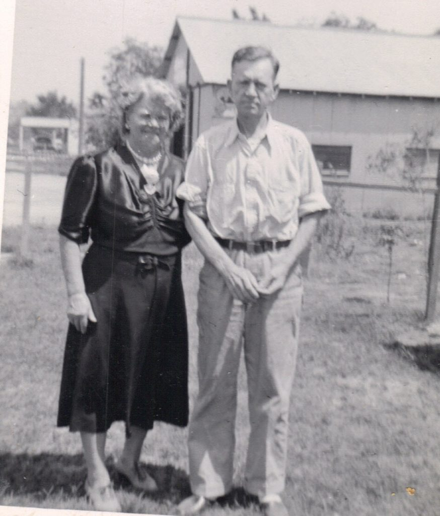 Alice Miller and Frank Miller about 1940