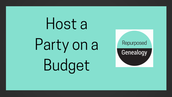 Host a party on a budget