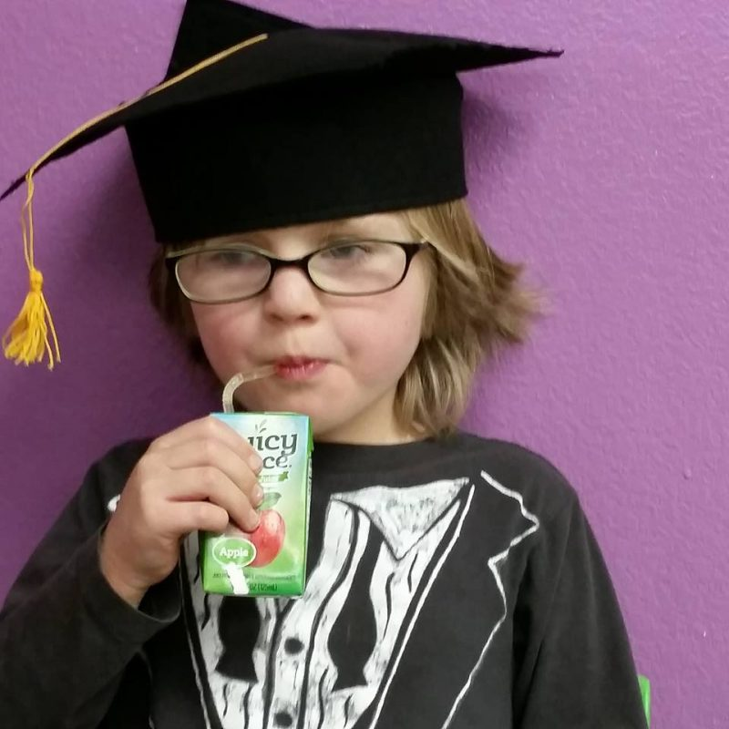 PB after preschool graduation
