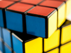 Rubik's cube by William Warby