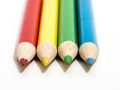 Colouring Pencils via William Warby