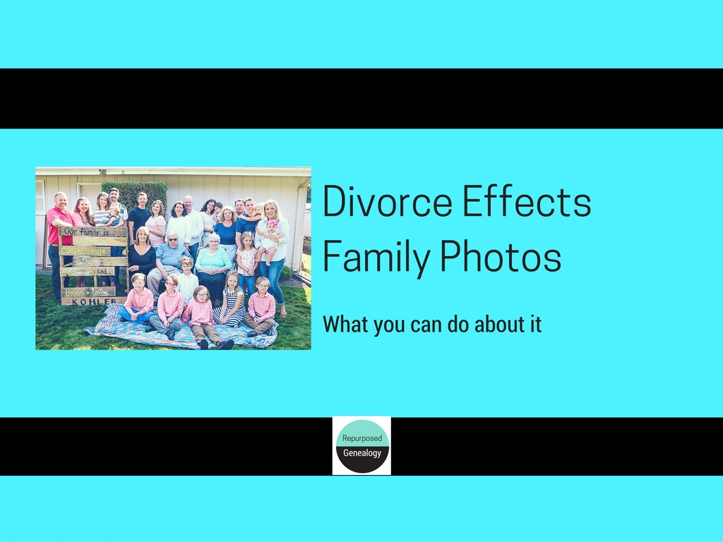 Divorce Effects Family Photos What you can do about it