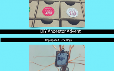 Easy DIY Ancestor Advent Calendar
