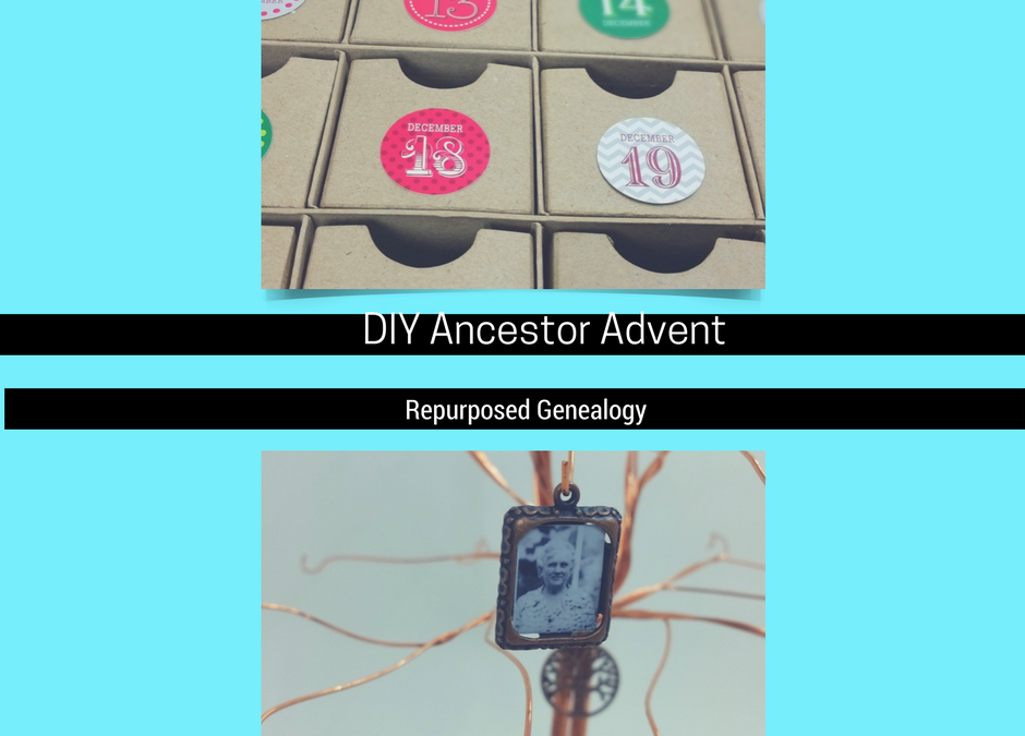 advent wiring diagram easy diy ancestor advent calendar repurposed genealogy  easy diy ancestor advent calendar