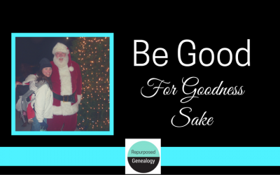 Be Good For Goodness Sake