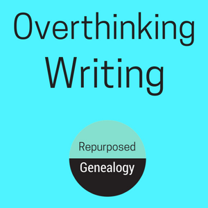 Overthinking writing, vintage women