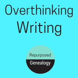Overthinking writing, vintage women