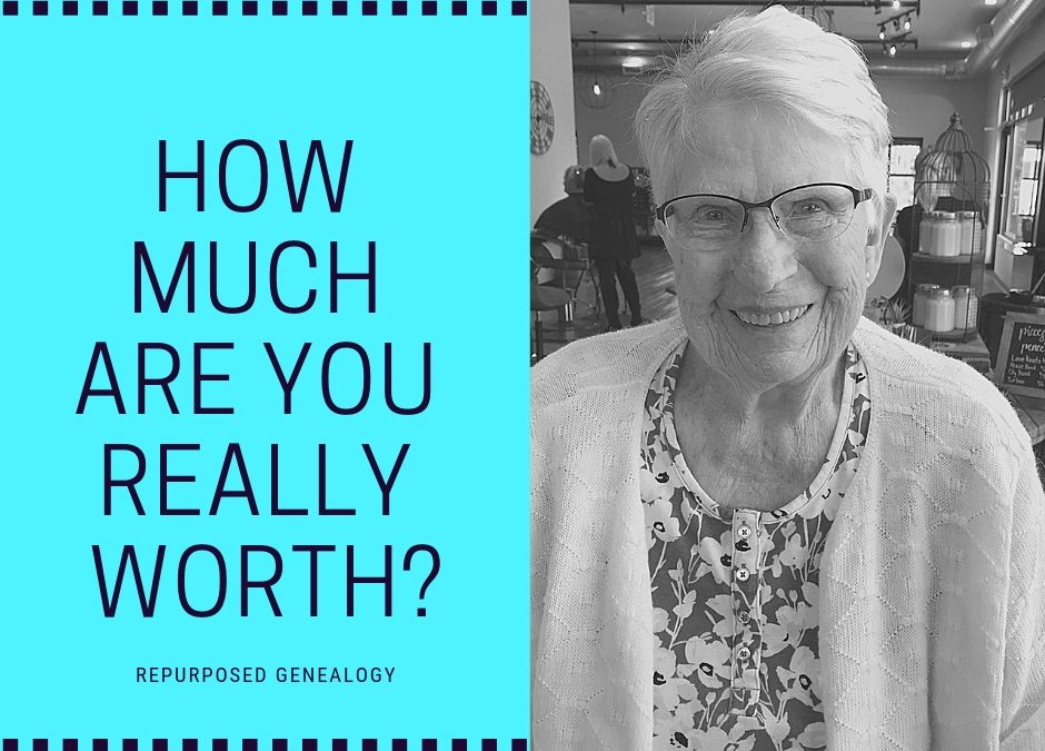 how much are you really worth poem grandma