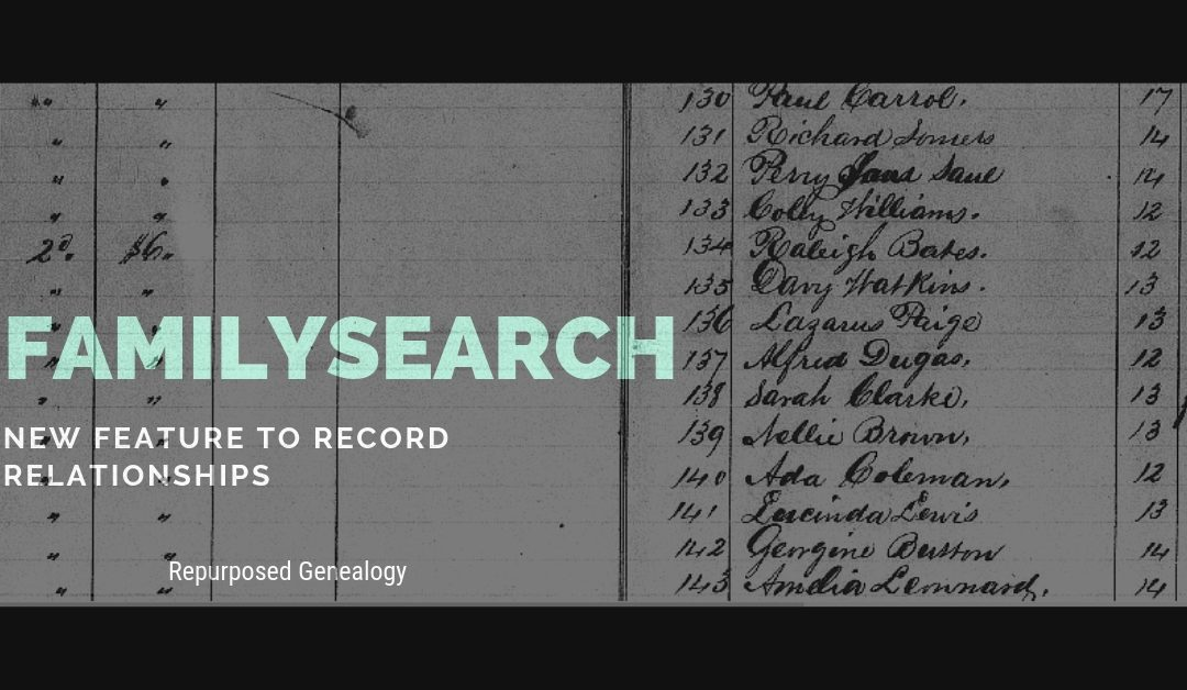 New FamilySearch Feature